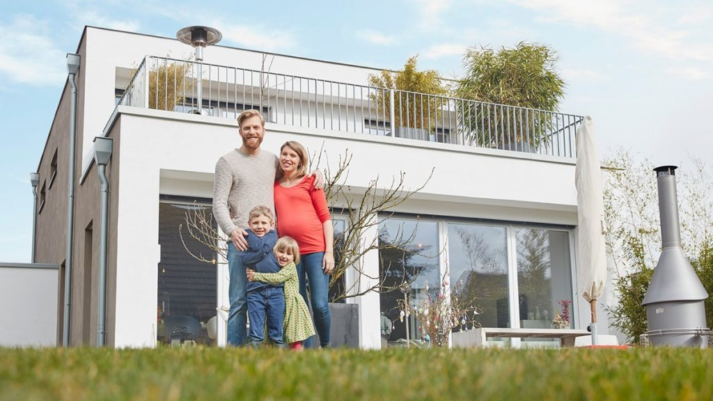 Familie erfüllt sich Wohntraum